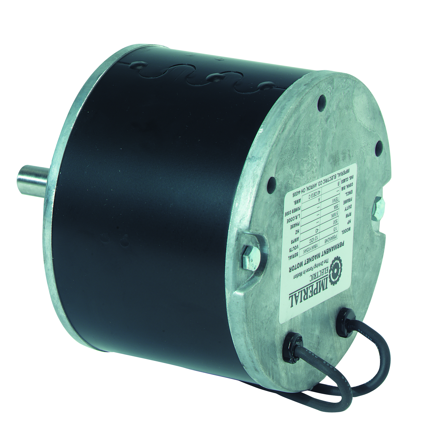 Motor electric 12 vdc 1 3hp for 1 4 hp 12v dc electric motor