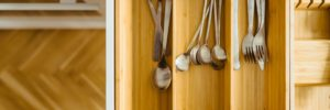 silverware in drawer
