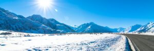 extreme sun and extreme cold